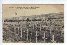 CPA Guerre 1914 1918 Cimetière De Bras Au Pied De La Côte Du Poivre - Guerra 1914-18