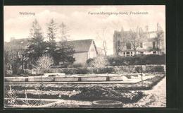 CPA Ferme-Montgarny-Nord, Häuser Avec Le Jardin - France