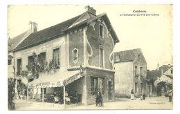 93 COUBRON  HOSTELLERIE DU PRE AUX CLERCS PUBLICITE BIERE GRUBER EDITION ROULLIER  DEVANTURE SEINE SAINT DENIS - France