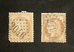 HB-P 301 France YT N°55+59 Cérès - Départ à Moins D'1€ !!! - 1871-1875 Cérès