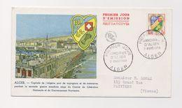 Alger / Enveloppe 1 Er Jour  / Armoiries / 7-03-1959 - Algérie (1924-1962)