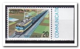 Zuid Korea 1975, Postfris MNH, Trains - Korea (Zuid)