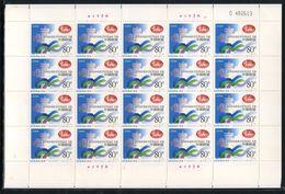 China 2001-21 APEC Cine 2001 Full S/S Emblem APEC - APEC