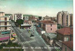 Loano (Savona, Liguria) Via Aurelia E Via Trento-Trieste, Aurelia Road And Trento-Trieste Street - Savona
