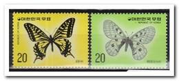 Zuid Korea 1976, Postfris MNH, Butterflies - Korea (Zuid)