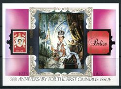 Belize 1985 50th Anniversary Of First Commonwealth Omnibus Set MS MNH (SG MA845) - Belice (1973-...)