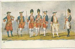 GRANATIERI  DI SARDEGNA  CARTOLINA POSTALE--  RIPRODUZIONE - Regiments