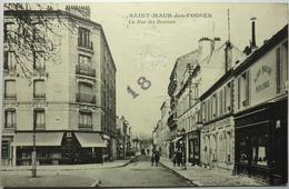 LA RUE DES REMISES - SAINT MAUR Des FOSSÉS - Saint Maur Des Fosses