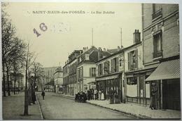 LA RUE BOBILLOT - SAINT MAUR Des FOSSÉS - Saint Maur Des Fosses