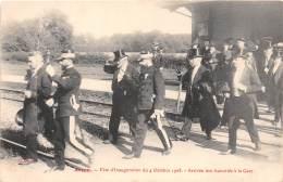28 - EURE ET LOIR / Arrou - 28531 - Inauguration Du Groupe Scolaire - Beau Cliché Animé - France