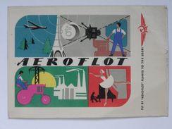 Fly To Aeroflot / Advertising Airline Aeroflot CCCP  /  Russia - Aerodrome