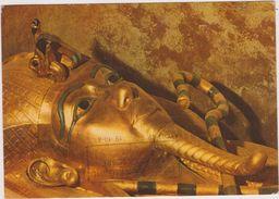 EGYPTE,EGYPT,THEBES,TOMBE,MOMIE,TOMBEAU EN OR - Alexandria