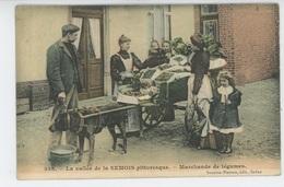 LA VALLEE DE LA SEMOIS PITTORESQUE - Marchande De Légumes ( Voiture à Chiens ) - Edit. Suzaine Pierson à SEDAN - Frankreich
