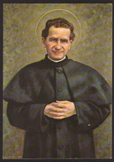 CARTOLINA - San Giovanni Bosco - (Edizioni Ricordi Religiosi / Santuario Maria Ausiliatrice - Torino) - Iglesias