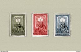 Hungary 1951. Hungarian Stamp 80. Anniversary Nice Set MNH (**) Michel: 1201-1203 / 35 EUR - Ungarn