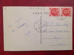 01 Thoissey La Plage 1942 Petain (vrai Ou Faux De Londres?) - France