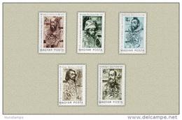 Hungary 1987. Pioneers Of The Medicine / Doctors Nice Set MNH (**) Michel: 3886-3890 / 4.50 EUR - Hungary