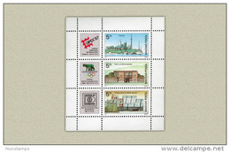 Hungary 1987. Stamp Exhibition Sheet MNH (**) Michel: Block 189A / 4.50 EUR - Ungarn