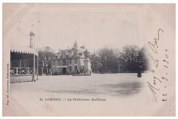 56 - LORIENT . La Préfecture Maritime - Réf. N°4379 - - Lorient