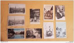 Lot De 9 Cartes Postales De MONTBELIARD - Montbéliard