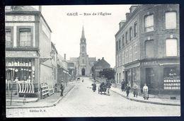 Cpa Du 61  Gacé   Rue De L' église      SEP17-32 - Gace