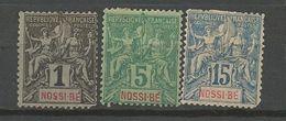 LOT NOSSI-BE 2ème CHOIX - Nossi-Bé (1889-1901)