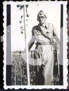 1936 TENENTE ARTUR DE ARRUELO GUERRA CIVIL ESPANOLA ZARAGOZA ESPANA SPAIN INEDITA FOTO PHOTO MS81 - Guerra, Militari