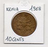 Kenia - 1968 - 10 Centesimi - (MW472) - Kenya
