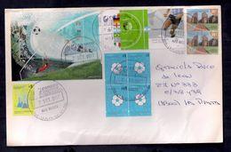 L'enveloppe De L'Argentine A Circulé Avec Une Série De Football - Fußball-Weltmeisterschaft