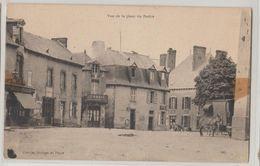 35 Pertre Vue De La Place Epicerie Et Boutique Charil éditeur Courcier Horloger à Pertre Etat - France