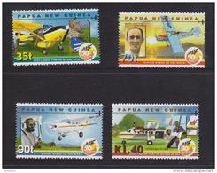 Papua New Guinea 2001 Air Transport Plane Set 4 MNH - Papúa Nueva Guinea