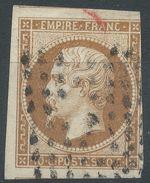 Lot N°37688   N°13B, Oblit Losange De PARIS,Trois Bonnes Marges - 1853-1860 Napoléon III