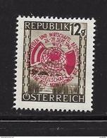 AUTRICHE 1946 CONGRES POUR LE DEVELOPPEMENT AVEC L'URSS  YVERT N°646 NEUF MNH** - 1945-60 Unused Stamps