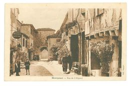 82 -- MONTPEZAT --  RUE DE L HOPITAL - Montpezat De Quercy