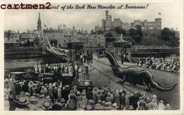 THE LOCH NESS MONSTER AT INVERNESS SURREALISME LEGENDE MONSTE DRAGON ENGLAND ECOSSE SCOTLAND - Photographs
