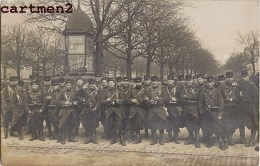 CARTE PHOTO A LOCALISER DANS LE VAL-D'OISE LE 24eme REGIMENT MILITAIRE SOLDATS GUERRE - Regimenten
