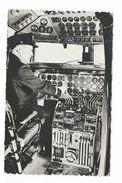 AVIATION...Cie Aérienne Belge SABENA.. D.C 6 Poste De Pilotage - 1946-....: Moderne