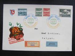 BRIEF Pardubice - Volyne 1938 Pferde Zlata Prilba Motocycle  /// D*27495 - Briefe U. Dokumente