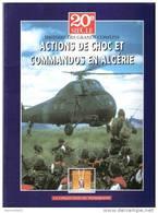 ACTIONS CHOC COMMANDO GUERRE ALGERIE SERVICE LEGION PARA 11e MARINE DBFM - Boeken