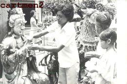 PHOTOGRAPHIE ANCIENNE : SIAM THAILANDE BANGKOK THAÏLAND FETE TEMPLE - Thaïlande
