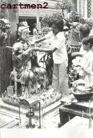 PHOTOGRAPHIE ANCIENNE : SIAM THAILANDE BANGKOK THAÏLAND FETE TEMPLE BOUDDHISTE Buddhist - Thaïlande