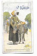 NOIRMOUTIER (85) Chromo Les Asnieres Du Bois De La Chaise Publicité Kabiline - Noirmoutier