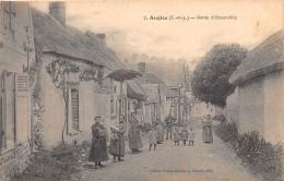 28 - EURE ET LOIR / 28761 - Angles - Route D' Occonville - Beau Cliché Animé - Francia