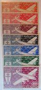 Cote Française Des Somalis - Série Londres 1943 - Poste Aérienne YT 1 à 7 * - Nuevos