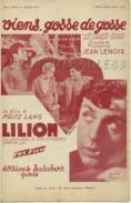 CAF CONC FILM PARTITION VIENS GOSSE DE GOSSE LILIOM CHARLES BOYER OZERAY BELGIQUE JEAN LENOIR MUSETTE 1934 FRITZ LANG - Film Music