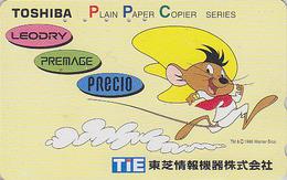 Télécarte Japon / 110-011 - BD Comics - WARNER BROS - Souris SPEEDY GONZALEZ - Mouse Maus Japan Phonecard - Comics