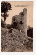 CPA-J1408-CORSEUL CHATEAU DE MONTAFILAN RUINES 1913 - France