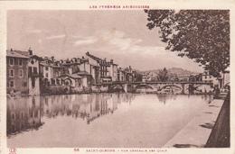 09 - SAINT GIRONS - Vue Générale Sur Les Quais - Saint Girons