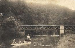 HOUYET - Le Pont D'Ardenne - Oblitération De 193? - Edit. : Closset-Deculot, Café De La Gare, Gendron-Celles - Houyet
