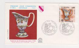 Enveloppe 1er Jour / N 960 A / FaÏence De Strasbourg 1740 / 8-5-76 - 1970-1979